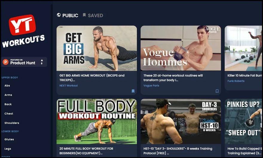 free youtube workout videos
