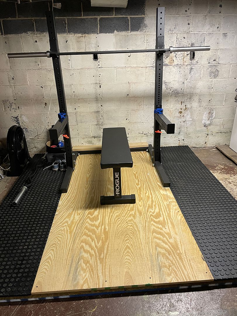 My Basement Home Gym - After