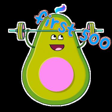 First 500 Members Badge badge