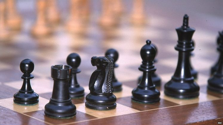 Cover image for The rise of chess... 1500 years later